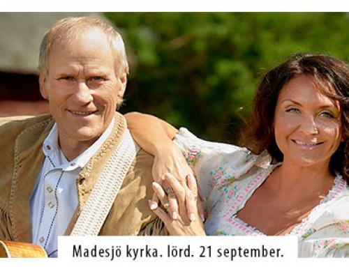 Lasse Sigfridsson och Christina Lindberg Madesjö kyrka den 21 september.