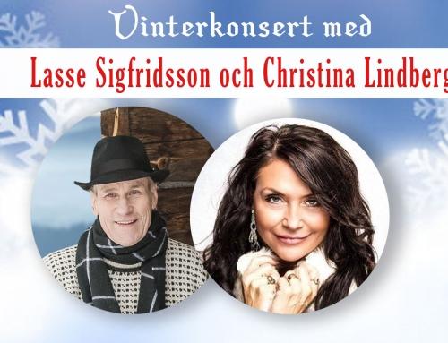 Dansbandsstjärnorna ger vinterkonsert i Emmaboda.