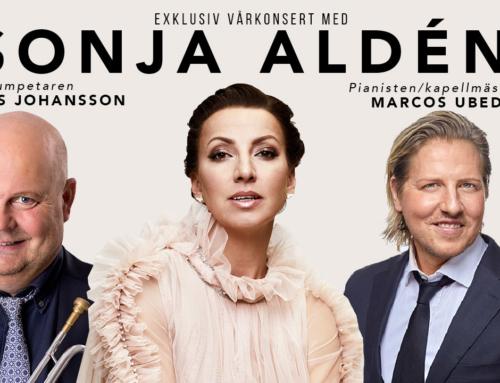 Sonja Aldén ger vårkonsert i Växjö och Kalmar